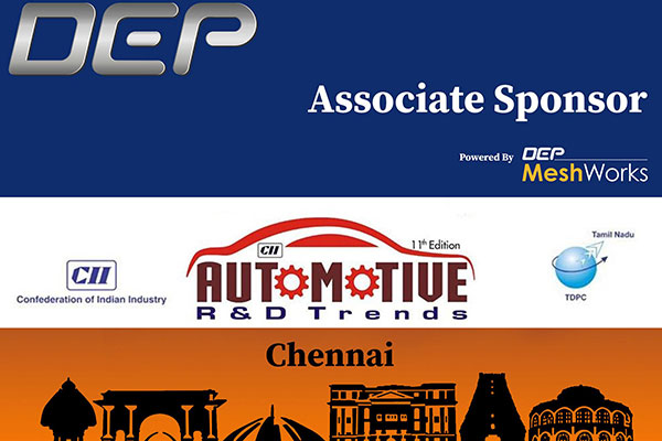 DEP – Associate sponsor for the Upcoming CII conference on Automotive Trends