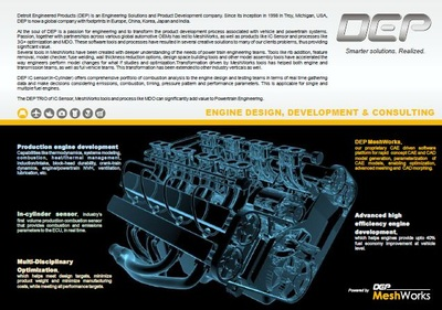 Engine Design, Development and Consulting